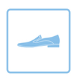Man shoe icon vector image