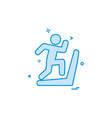 running icon design vector image