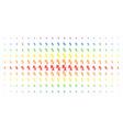 rx medical symbol spectral halftone effect vector image vector image