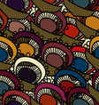 Seamless with floral pattern vector image vector image