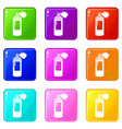 spray paint icon simple black style vector image vector image