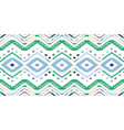 tribal ethnic ikat folklore pattern african vector image vector image