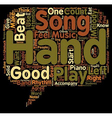 What Makes A Piece Of Music A Good Song text vector image vector image