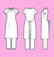 womens clothing set vector image