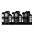 city urban icon vector image