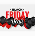 abstract black friday sale banner design vector image