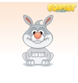 Cute Cartoon Little Rabbit Funny Animal
