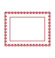 elegant badge seal icon vector image vector image