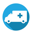 medical transport vector image vector image