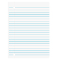 page paper vector image vector image