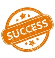 Success grunge icon vector image vector image