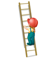 Construction Ladder vector image vector image