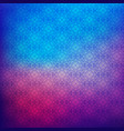 floral pattern on gradient blur background vector image