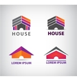 house logo for company vector image vector image