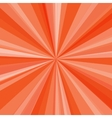 Orange rays background for your bright beams vector image