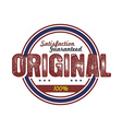 original quality badge vector image