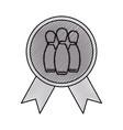 award sport medal vector image vector image