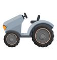 farm tractor icon cartoon style vector image