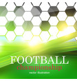 football abstract background design template for vector image vector image