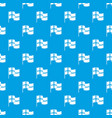 holland flag pattern seamless blue vector image vector image