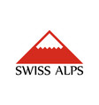 logo of swiss alps vector image vector image