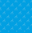 parking zone pattern seamless blue vector image vector image
