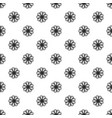 petal herb flower pattern seamless vector image