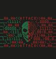 Virus 8 bit vector image vector image