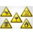 Warning Sign Set 2 vector image