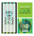 big sale banners ribbon vector image