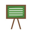 blackboard education isolated vector image vector image