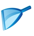 Dustpan for rubbish vector image vector image