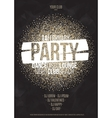 Lounge bar party poster background vector image vector image