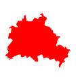 map of berlin vector image vector image