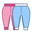 pants for newborn babies kids fashion for boys vector image