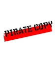 Pirate Copy rubber stamp vector image vector image