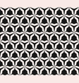 seamless pattern with angular figures triangular vector image vector image