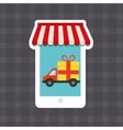 shopping buy digital marketing vector image vector image