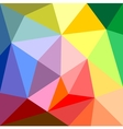 Triangle colorful background vector image