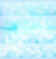 background design with bright light on blue vector image vector image