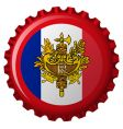 France bottle cap vector image vector image