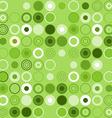 Green Circle Decoration vector image