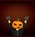 happy halloween creative hipster party vector image vector image