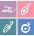 Happy Holidays Banner vector image