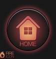 House icon Home sign vector image vector image