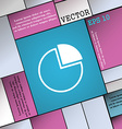 Infographic icon sign Modern flat style for your vector image vector image