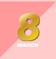 International women s day poster 8 number 3d