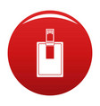 key connector icon red vector image vector image