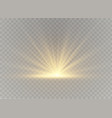 light highlight yellow vector image vector image