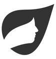 natural herbal cosmetics flat icon vector image